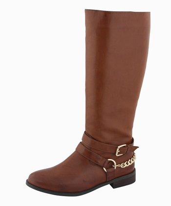 Tan Eden Boot
