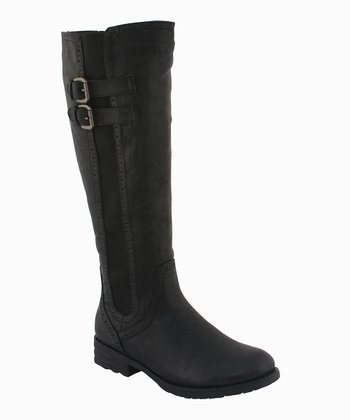 Black Riley Boot