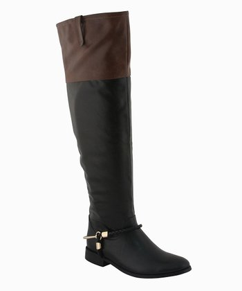 Black Sharon Boot
