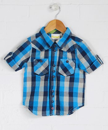 Polperro Plaid Button-Up - Infant, Toddler & Boys