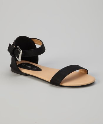 Black At-10k Sandal