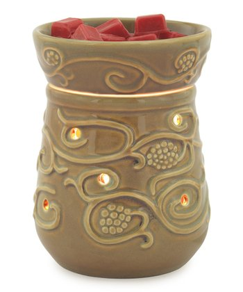 Moss Green Illumination Wax Warmer