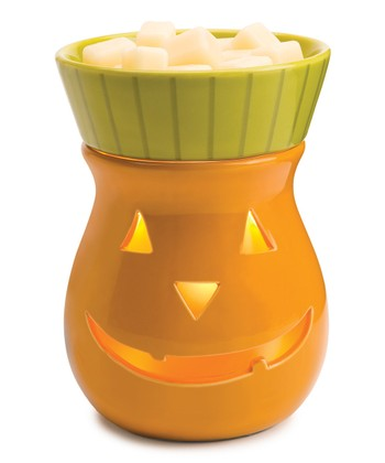 Orange Jack-O'-Lantern Illumination Wax Warmer