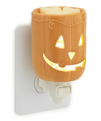 Orange Jack-O'-Lantern Plug-In Wax Warmer