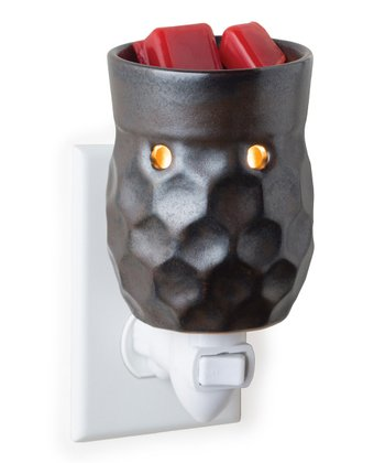 Metallic Honeycomb Plug-In Wax Warmer