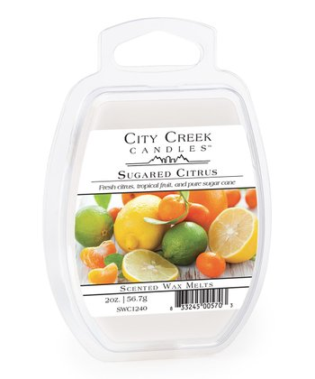 Sugared Citrus Wax Melt - Set of Four