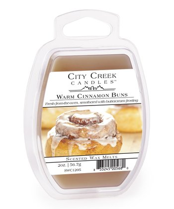 Warm Cinnamon Buns Wax Melt - Set of Four