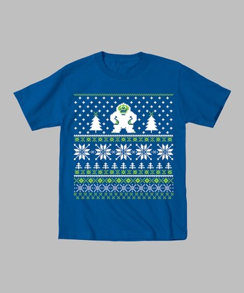 Royal Blue Yeti Tee - Toddler & Kids