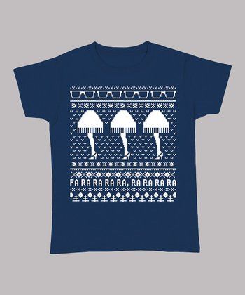 Navy Holiday Leg Lamp Tee - Women & Plus
