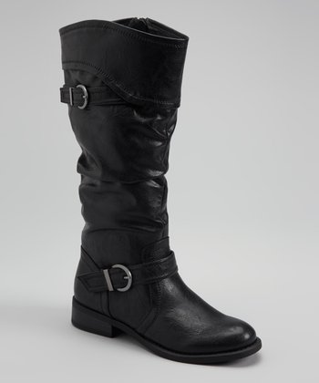 Black Lariat Boot