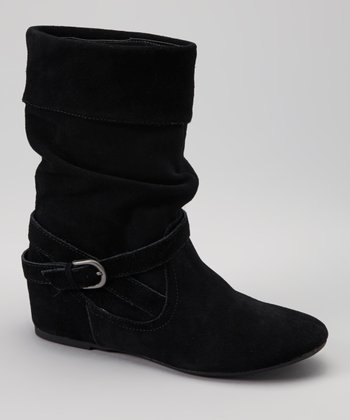 Black Suede Overture Boot