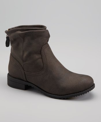 Brown Tia Ankle Boot