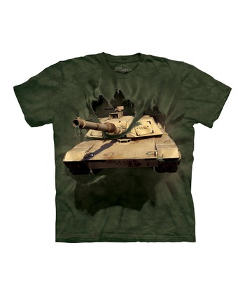 Green Abrams Tank Breakthrough Tee - Toddler & Boys