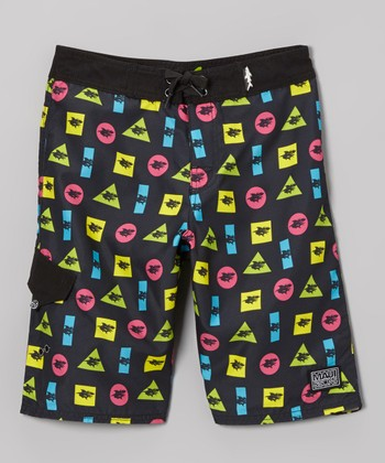 Black Shark Elements Boardshorts - Boys