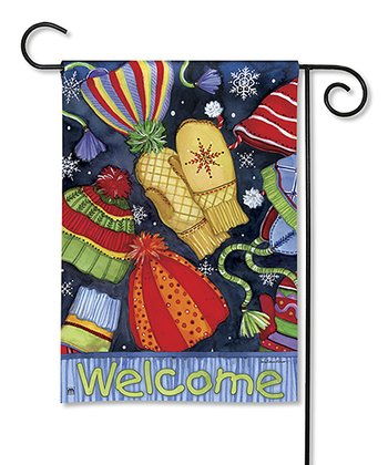Hats & Mittens Holiday Garden Flag