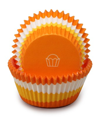 Orange Swirl Cupcake Liner - Set of 60