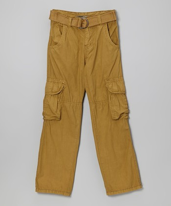 Tan Cargo Pants - Boys