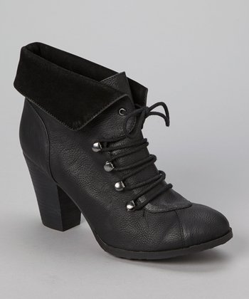 Black Gallant Bootie