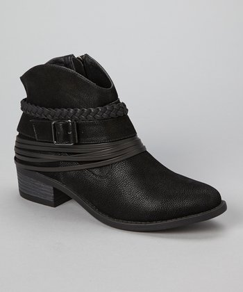 Black Howdy Ankle Boot