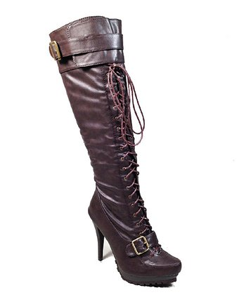 Brown Hip Boot