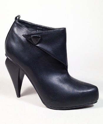 Black Splash Bootie
