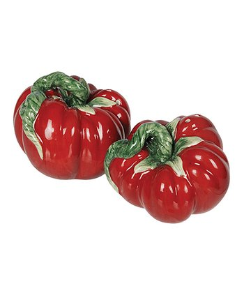 Tomato Salt & Pepper Shakers