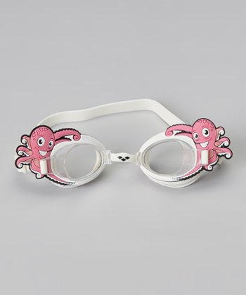 White Octopus Bubble Goggles - Kids