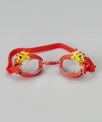 Red Fish Bubble Goggles