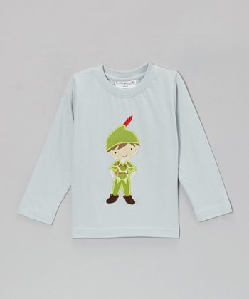 Light Blue Peter Pan Hampton Appliqué Tee - Infant