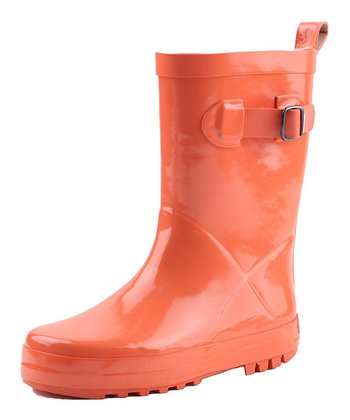 Orange Froggies Rain Boot - Kids