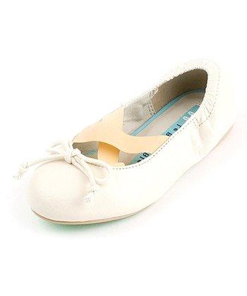 LeBunny Bleu Ivory Terri Leather Ballet Flat