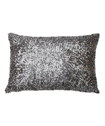 Charcoal Griselda Sequin Pillow