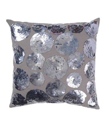 Sequin Shell Pillow