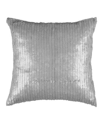Silver Scale Pillow