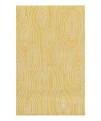 Yellow & Ivory Shire Indoor/Outdoor Rug