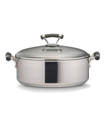 Contempo Stainless Steel Nonstick 7.5-Qt. Covered Wide Stockpot