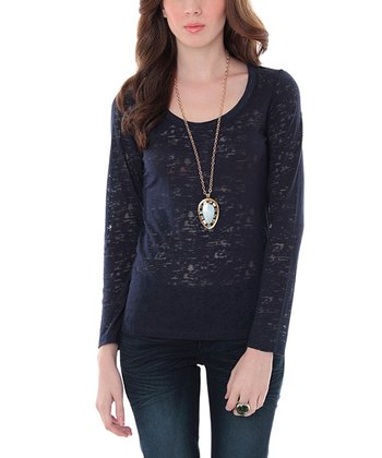 Eclipse Burnout Long-Sleeve Top