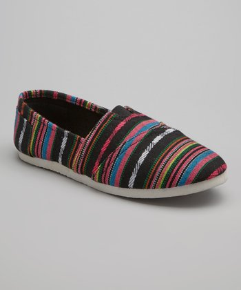 Black Stripe Go Slip-On Shoe