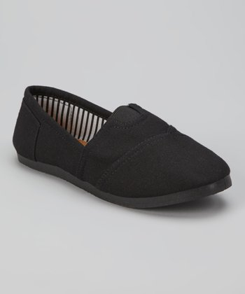 Black Go Slip-On Shoe