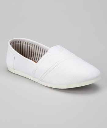 White Go Slip-On Shoe