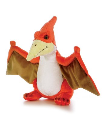 Orange Pteranodon Plush Toy
