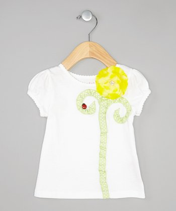 Yellow Flower Tee - Infant, Toddler & Girls