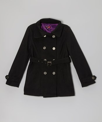 Blackthorn Belted Slit Pocket Coat - Toddler & Girls