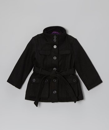 Blackthorn Tie Belt Jacket - Toddler & Girls