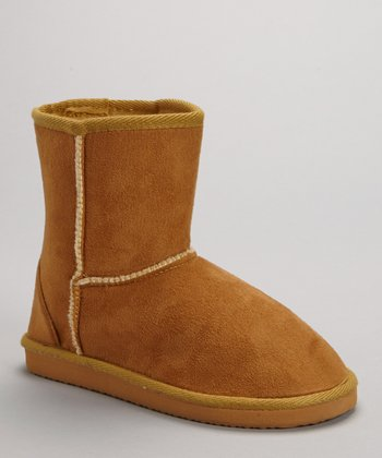 Camel Short Boot