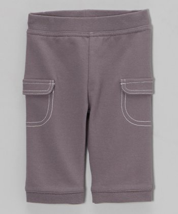 Gray Cargo Pants - Infant