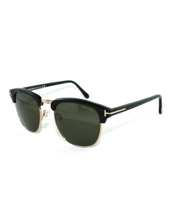 Black Henry Sunglasses