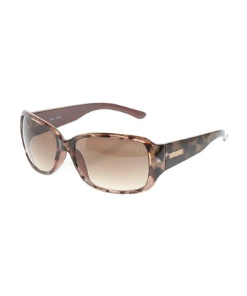 Dark Tortoise Rectangle Sunglasses