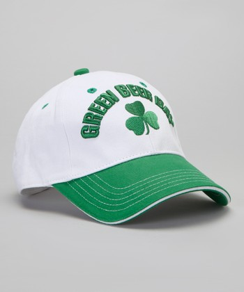 White 'Green Beer Day' Cap