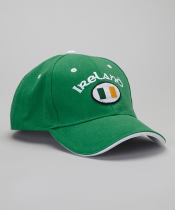 Green & White 'Ireland' Cap